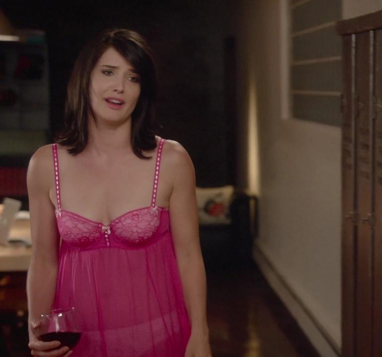 Cobie smulders lingerie