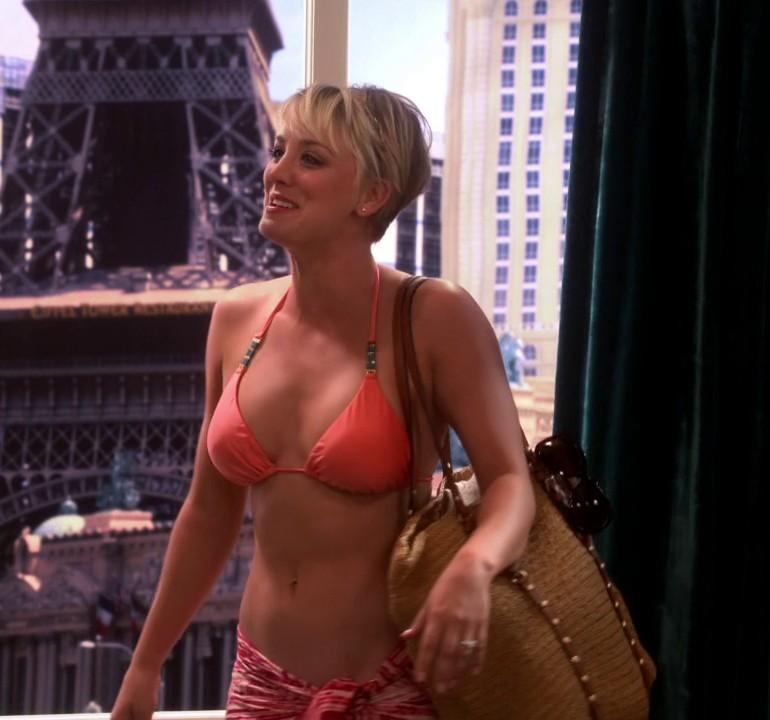 Penny from big bang theory bikini