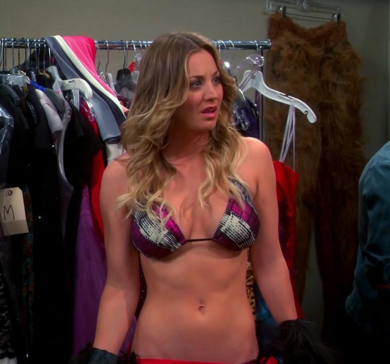 Pop Minute - Kaley Cuoco Bikini Top Costume Big Bang Theory Photos ...