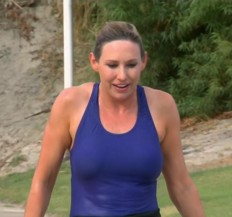 Pop Minute - Kari Byron Swimsuit Thrill Factor Photos ... Katie Holmes Divorce