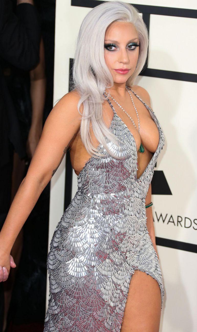 Pop Minute Lady Gaga Grammy Awards 2015 Photos Photo 6