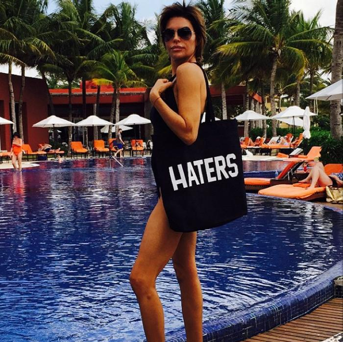 Lisa Rinna Bikini Haters Bag