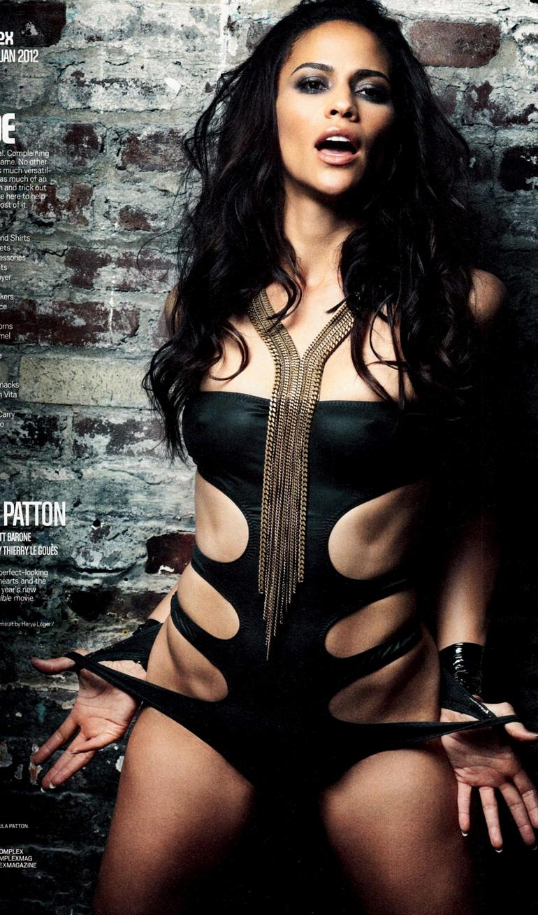 Paula patton sexy body right! Idea