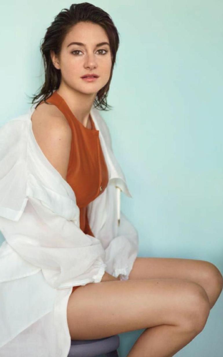 Pop Minute - Shailene Woodley Legs InStyle 2k16 Photos - Photo 8