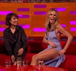 Amanda Holden Legs Tattoo Graham Norton Show