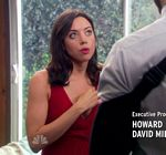 Aubrey Plaza Parks and Recreation Gown