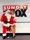Charissa Thompson Santa Fox Sunday