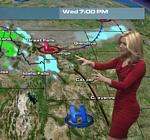 Kristin Clark Weathernation Map