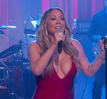 Mariah Carey Kimmel Vision Of Love 6