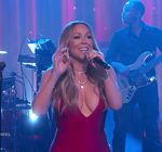 Mariah Carey Kimmel Vision Of Love 7