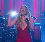 Mariah Carey Kimmel Vision Of Love 8