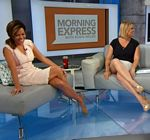 Robin Meade Legs Morning Express