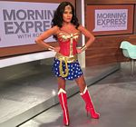 Robin Meade Wonder Woman HLN