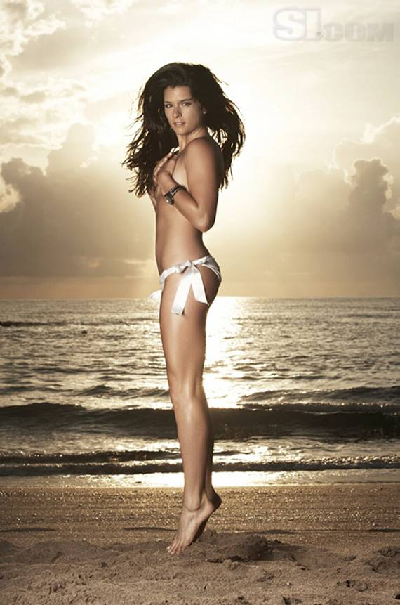 Danica Patrick Bikini Swimsuit Issue Topless, Sexy
