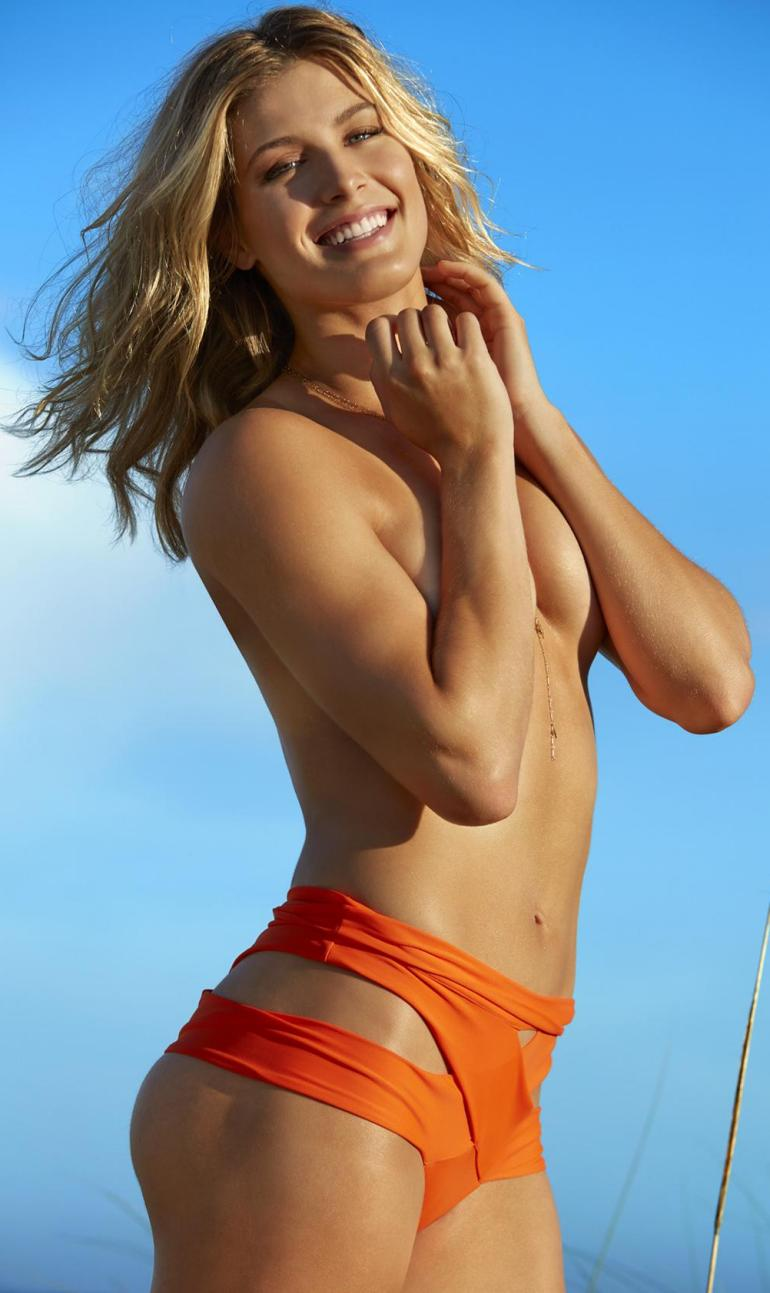 Genie Bouchard Topless